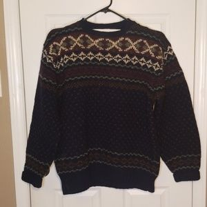 Vintage POLO by Ralph Lauren wool sweater. Sz xlg